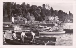 CPSM THONON LES BAINS 74 LE PORT BARQUES ANIMATION 1953 - Thonon-les-Bains