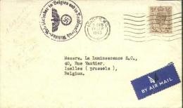 "Engelse Brief London Naar Ixelles Met ""Militär-Befehlshaber In Belgien Und Nordfrankreich"". - WW II"