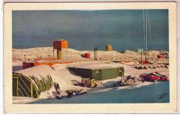 THEME POLAIRE, Territoire Antarctique Australien AAT. Timbre N°3 Obl.Wilkes En 1961, Sur Carte De La Station, (Pôle Sud) - Lettres & Documents