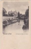 Diest - Le Demer Et L'eglise - Diest