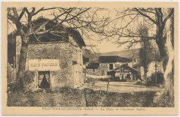 38 // BEAUVOIR EN ROYANS   La Place Et Ancienne église - France