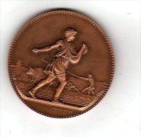 Médaille Le Semeur (et Laboureur) Par J.LAGRANGE    ( Scan Recto Et Verso) - Non Classés