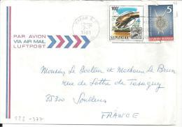 SENEGAL - Lettre Du 2-01-81  Timbres N° 523 Et 377 - Sénégal (1960-...)