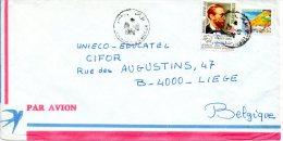 TUNISIE. N°928 De 1981 Sur Enveloppe Ayant Circulé. H. Von Stephan/UPU. - U.P.U.