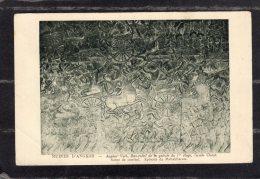 "44286  Cambogia,  Ruines  D""Angkor  -  Angkor-Vath  -  Bas-relief  De La  Galerie Du  1er  Etage,  Facade  Ouest,  NV - Cambodge"