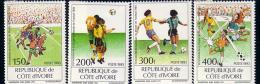 COTE D IVOIRE  N° 913/16    * *  Cup 1994  Football  Soccer  Fussball - World Cup