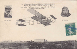 ISSY LES MOULINEAUX - Champ D'Aviation -   Biplan Farman - E-RENAUX - Issy Les Moulineaux