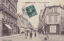 Rochefort Sur Mer 17 -   Commerces Rue De La République - Rochefort