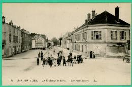 Bar Sur Aube -  Aube - Faubourg De Paris -  Animé - Bar-sur-Aube