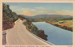 Tennessee Chattanooga Jonas Bluff On Lookout Mountain To Point L