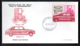 Mali A 071 Fdc , Renault R16 - Cars