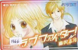 Carte Prépayée Japon * MANGA * LOVE FIGHTER * ANIME (11.666) Movie Japan Prepaid Card Tosho Karte - Kino