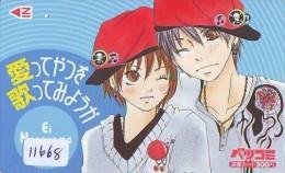 Carte Prépayée Japon * MANGA * EI NAGAYAMA * ANIME (11.668) Movie Japan Prepaid Card Tosho Karte - Kino