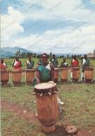 AFRICA,BURUNDI,TAMBOURINAIERS ,old Photo Postcard - Burundi