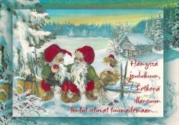 Christmas, Nöel, Weihnachten, Navidad, Natale - Finland - L - 046 - Used - Finlandia