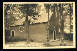 Cpa  Du 29  Sainte Anne De Portzic Chapelle De Sainte Anne Incendiée Et Réédifiée En 1929  ROSC6 - Brest