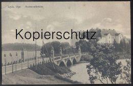 ALTE POSTKARTE LYCK SUERMONDTBRÜCKE OSTPREUSSEN Elk Ostpreußen Ermland-Masuren Poland Polska Cpa Postcard Ansichtskarte - Ostpreussen