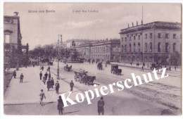 Gruss Aus Berlin 1907  (c4008) - Germania