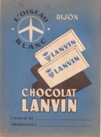 Chocolat LANVIN L´OISEAU BLANC DIJON - Book Covers