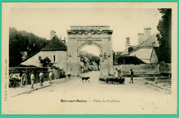Bar Sur Seine - Aube -   Porte De Chatillon - Animé - Bar-sur-Seine
