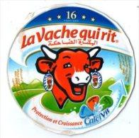 """étiquette De Boite De Fromage 16 Portions"""" La Vache Qui Rit """" ( Serie 75013831) Protection Et Croissance - Fromage"""