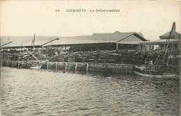 : BERO-13-095  : Somalie Djibouti Le Débarcadère - Somalie