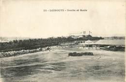 : BERO-13-097  : Somalie Djibouti Docks Et Rade - Somalie