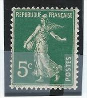 France    Yvert     137             *          Neuf   * - France