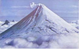 Alaska Volcano Unknown Mountain, C1950s Vintage Postcard - Sonstige