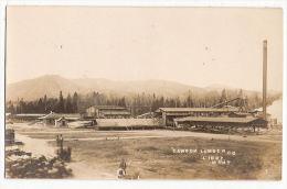 CPA Dawson Lumber Co  Libby Montana Etats Unis Scierie  Charpente - Etats-Unis