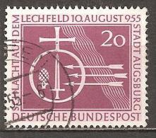 *BRD 1955 // Mi. 216 O - Used Stamps