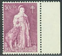 België/Belgique VAR 1964 1307-V (OBP/COB) - ** MNH - Haarlok/Mèche - Abarten (Katalog COB)