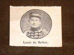 Louis De Solère - Ohne Zuordnung