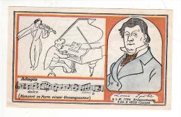 Billet - Moyen D'urgence Braunschweig 1921, 25 Pfennig, Konzert In Form Einer Gesangszene, Louis Spohr-PortrÀt, Stadtwap - [11] Emissioni Locali