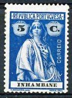!■■■■■ds■■ Inhambane 1914 AF#77* Ceres. 5 Centavos Chalky (x3311) - Inhambane
