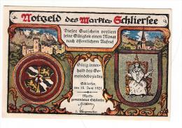 Billet - Nogeld Deg Marftes, 1921, 10 Pfennig - [11] Local Banknote Issues