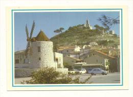 Cp, 13, Allauch, Les Moulins Et La Chapelle, écrite 1986 - Allauch