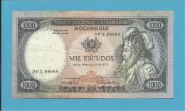 MOZAMBIQUE - 1000 ESCUDOS - 16.05.1972 - P 112 - D. AFONSO V - Mozambique