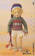 Télécarte Japon / 110-114579 - Jouet - MUSEE - POUPEE / ITALIE - YOKOHAMA DOLL MUSEUM Japan Phonecard - PUPPE / ITALY 23 - Giochi