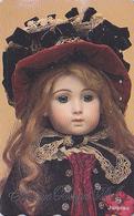 RARE TC Japon / 110-016 - POUPEE Ancienne En Porcelaine / JUMEAU FRANCE - Antique DOLL Japan Phonecard - Jouet Toy 42 - Jeux