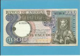 ANGOLA - 1000 ESCUDOS - 10.06.1973 - P 107 - LUIZ DE CAMÕES - Angola