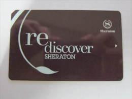 Hotel Key Card,rediscover Sheraton - Tarjetas Telefónicas