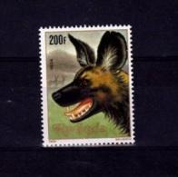 X] Timbre Stamp ** Rwanda Lycaon - Rwanda
