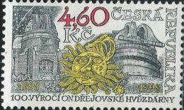 CZ1761 Czech Republic 1998 Observatory 1v MNH - Neufs