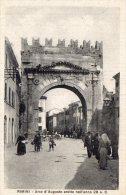 [DC7372] RIMINI - ARCO D'AUGUSTO ERETTO NELL'ANNO 28 A.C. - Old Postcard - Rimini
