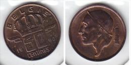 50 CENTIMES Bronze Baudouin 1980 FL - 1951-1993: Baudouin I