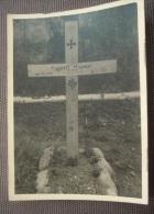 WW2 Original Photo - GERMAN ARMY RUSSIA TOMBA UNT. RUPPERT HUEMER GEBIRGS DIVISION 1 SETTEMBRE 1941 Formato 10 X 7,5 Cm - Weltkrieg 1939-45