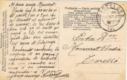 6723. Postal Fotografica BARCELONA A Torello (Barcelona) 1907.  Sin Franqueo - Cartas