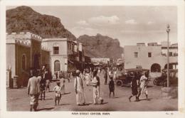 CPSM ADEN YEMEN MAIN STREET CRATER VOITURE AUTO ANIMATION - Yemen