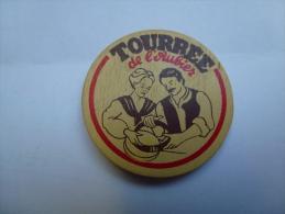 Magnets Fromage Tourrée De L'Aubier - Advertising